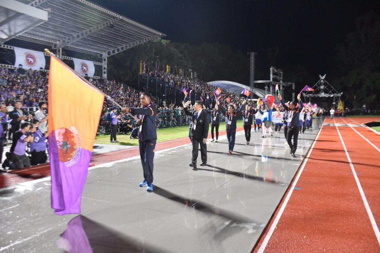 พิธีเปิด การแข่งขันกีฬาแห่งชาติ ครั้งที่ 46 เจียงฮายเกมส์